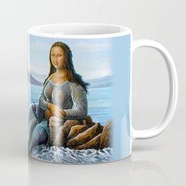 Monalisa Mermaid Coffee Mug