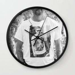 Ryan Gosling meta shirt Wall Clock