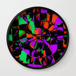 another spiral, more intense Wall Clock