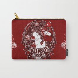 Poison - Blood Rose Carry-All Pouch
