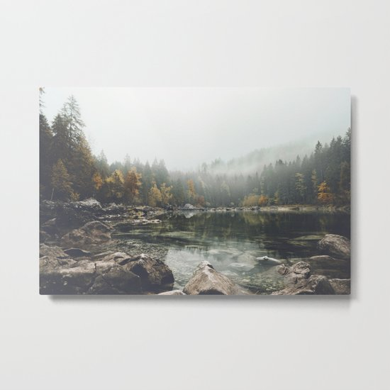 Serenity - Landscape Photography Metal Print