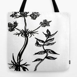Valerian Root Tote Bag