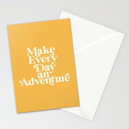 Make Everyday an Adventure Stationery Cards