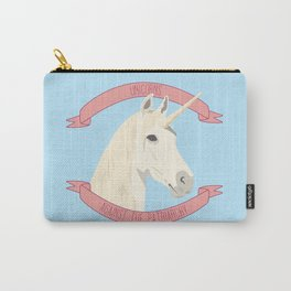 Unicorns Against the Patriarchy Carry-All Pouch