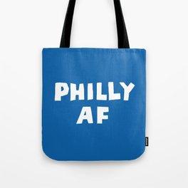 Philly AF (Blue) Tote Bag