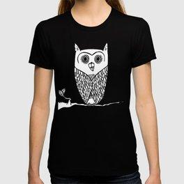 lil owl dude T-shirt
