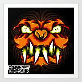 LavaDog Art Print