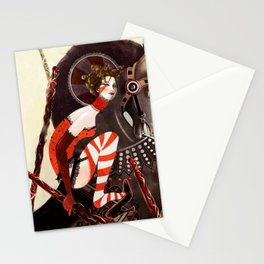 Amanda Palmer Six of Wands Stationery Cards