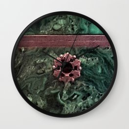Malachite Box 2 Wall Clock