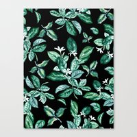 Canvas Prints featuring Leaves by RIZA PEKER
