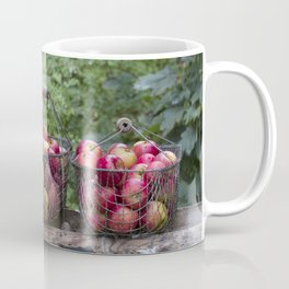 Autumn Apples Rustic Organic Food Still Life Coffee Mug