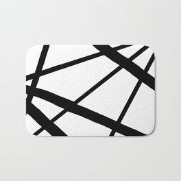 Star Diamond Line Abstract Bath Mat