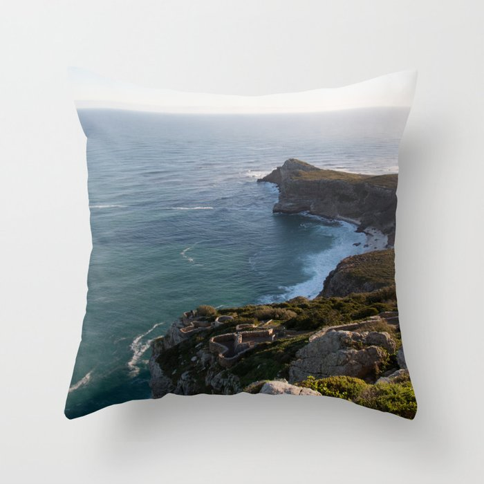 Cape Point Throw Pillow