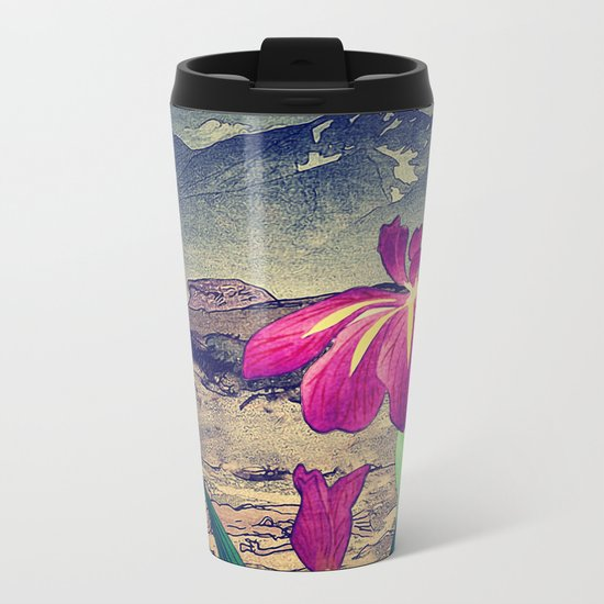 Evening Hues at Jiksa Metal Travel Mug