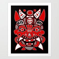 Fantasy Spirit Mask #1 Art Print