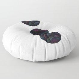 Circles - Raging Seas Floor Pillow