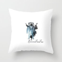 Cosmo Christ Throw Pillow