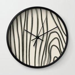The Grain III Wall Clock