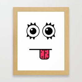 buhhh! Framed Art Print