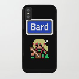 RPG Bard iPhone Case