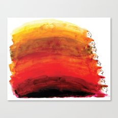 Rainbow of red hair Canvas Print