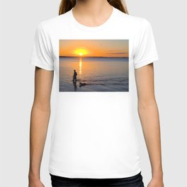 Wading in the Sunset T-shirt