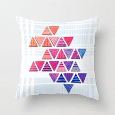 Triangular composition #3 Throw Pillow