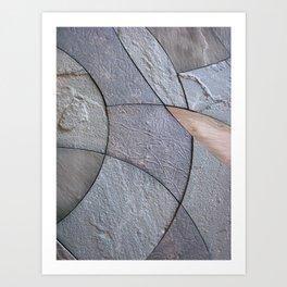 Curving Art Print