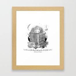 Hermione Granger Framed Art Print