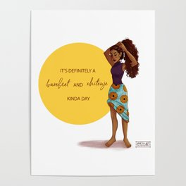 Barefeet and Chitenje Kinda Day Poster