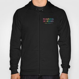 Nevertheless, She Persisted Rainbow Watercolor Typography Hoody