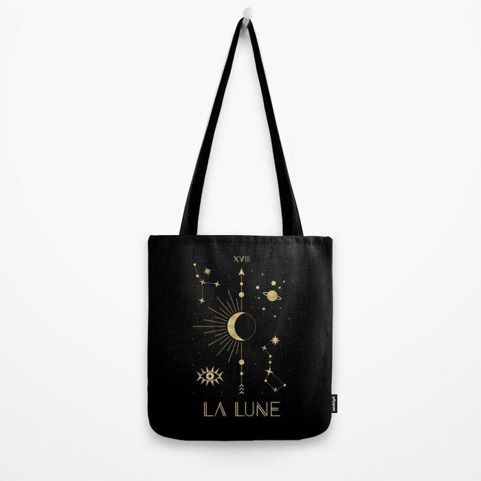 The Moon or La Lune Gold Edition Umhängetasche
