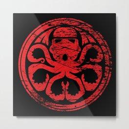 Imperial octopus Metal Print