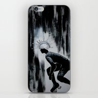 pivot iPhone & iPod Skins featuring Queens of Pain by JezRebelle