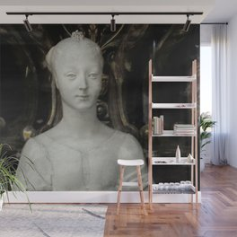 White Lady Marble Sculture Statue Wall Mural