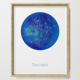 Constellation Sagittarius  Serving Tray