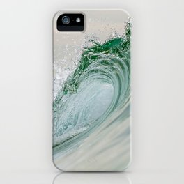 Glassy Wave iPhone Case