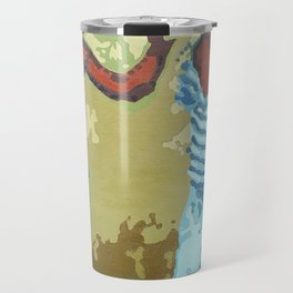 Painted on the Wall (3 of 5) Travel Mug