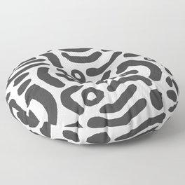 Painted Markings Floor Pillow