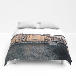 italian Architecture in Florence Comforters