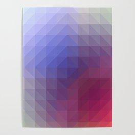 Blend Pixel Color 4 Poster