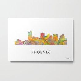 Phoenix, Arizona Skyline WB1 Metal Print