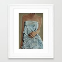 bride Framed Art Prints featuring Bride by Sarah Benko