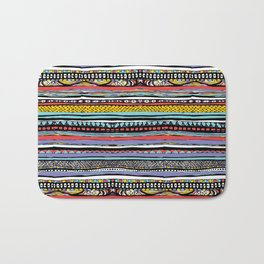 patterns of color, gift for guys, gifts for girls Bath Mat
