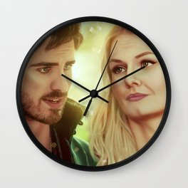 I'm not taking my eyes off you... Wall Clock