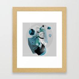 He Spoke On Space Research Framed Art Print