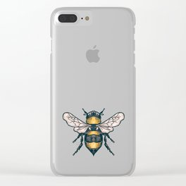 Honey Bee Clear iPhone Case