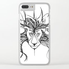Leo Clear iPhone Case