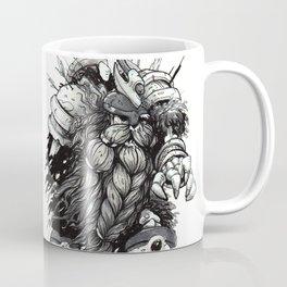 """Inktober 2017 #7 """"Zombie Dwarf"""" Coffee Mug"""