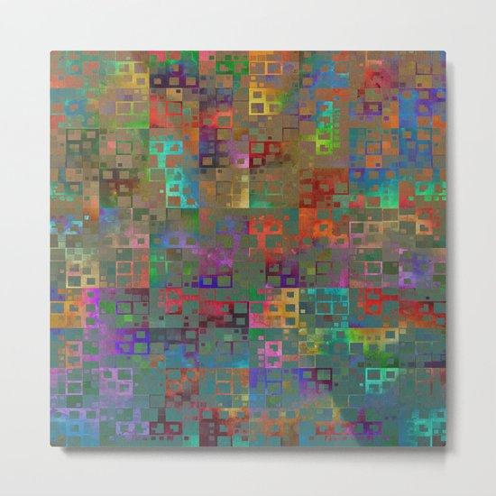 Geometrical Pattern 3 Metal Print